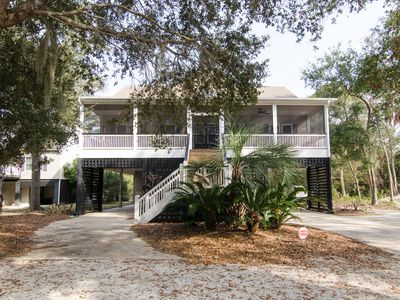 Photo for Off The Shelf II - Beautiful Home; Screened Porch & Easy Beach Access