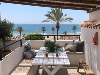 Photo for Newly renovated, very charming fisherman's cottage in the center of Estepona