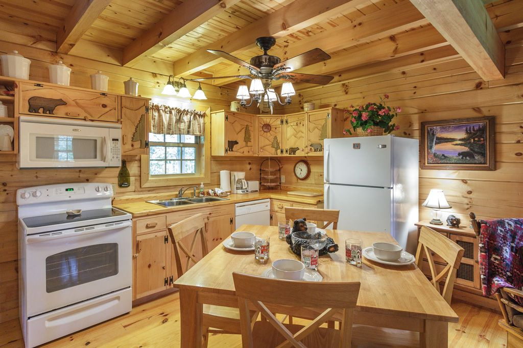 Property Image#2 REAL LOG CABIN   NEXT TO TROUT STREAM   FISHING ON PROPERTY