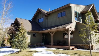 Photo for Beautiful Breckenridge townhome in perfect location!