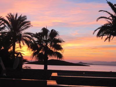 View from terrace to Mar Menor