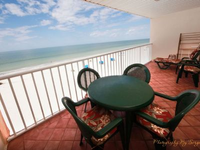 Photo for ****AMAZING SUNSETS!!!! Free Perks Included!****Holiday Villa II #313 Gulf Front Condo.