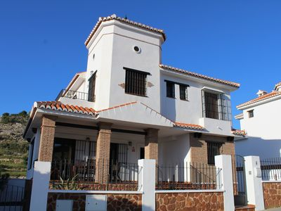 Photo for Typical Andalusian villa nested between the sea and the mountains