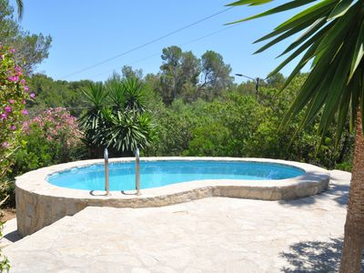 Photo for House in Cala Murada with pool, aacc, barbecue, wifi and only 1 km from the beach