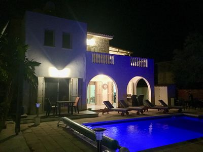 Photo for Detached, 3 Bedroom Luxury Villa with Private Heated Swimming Pool