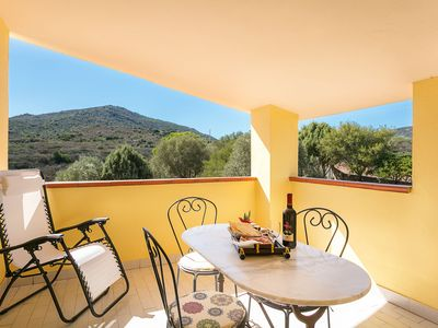 """Photo for Charming Holiday Apartment """"Casa Marianna"""" with Mountain View, Sea View, Balcony, Garden & Terrace; Parking Available"""