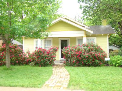 Photo for Charming tudor house conveniently located to dining, shopping and Downtown