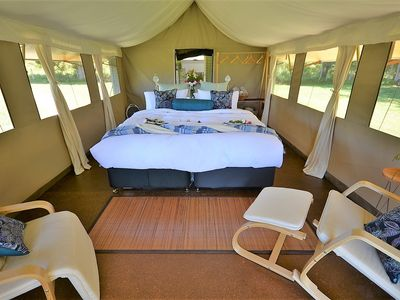 Photo for Glamping@Byron Luxury Tent #2- Minutes to Byron