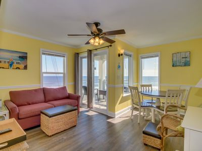 Photo for Newly renovated, 3rd floor, oceanfront condo, near Barefoot Landing