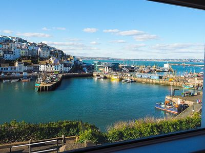 Photo for Large Harbourside Cottage with panoramic harbour & sea views. 2 x parking & free wi-fi. Sleeps 8