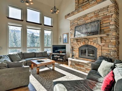 Photo for NEW! Breck Home w/Hot Tub & Views, 9 Mi. to Resort