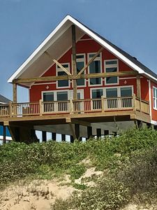 Photo for BEACH FRONT-New House with large loft