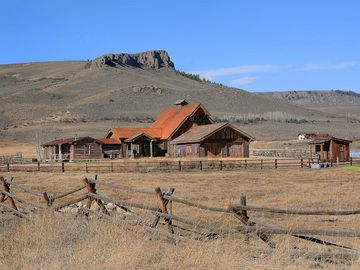 Unique 40 Acre Property With Renovated 1850 Miners Cabin and 3000 Sf Additon