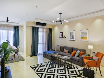 Photo for Prime Select Point 90 Mall 3 Bedrooms Apartment- Your Home Away from Home