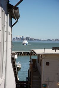 Photo for DOWNTOWN TIBURON, OVER WATER, NAUTICAL 1 BEDRO