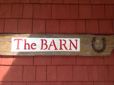 The Barn welcomes you!