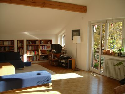 Photo for Spacious bright 3-room apartment with 2 bedrooms. and 2 bathrooms, very quiet.