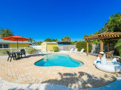 AMI North End Private Heated Saltwater Pool.  Great location to beach
