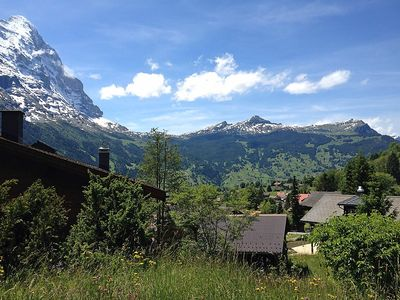 Photo for Apartment 537 m from the center of Grindelwald with Parking, Internet, Washing machine, Garden (38477)