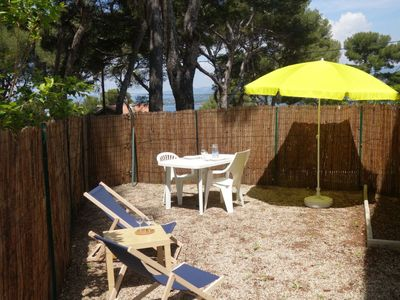 Photo for 1BR Apartment Vacation Rental in Saint-Cyr-sur-Mer