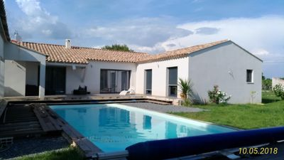 Photo for villa 8 people with swimming pool