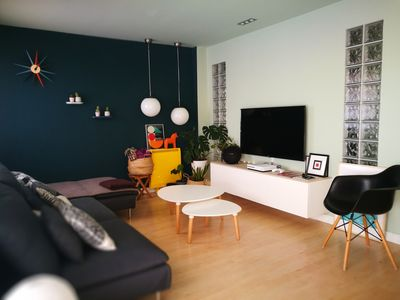 Photo for Beautiful apartment near the airport and fair of Madrid