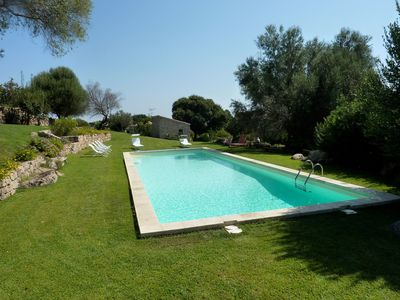 Photo for Villa in the Countryside with Wi-Fi, Air Conditioning, Pool and Garden