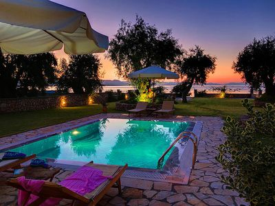 Photo for Absolutely Beach front Villa. Life is better at the beach!