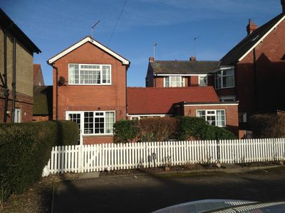 Photo for Detached house with own garden, private parking,pet friendly on the seafront
