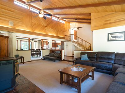 Photo for Large Home with Hot Tub & Custom Vaulted Ceilings