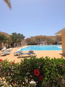 Photo for Two bedroom townhouse, communal pool, UK TV, Wifi available