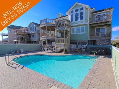 Photo for Oceanfront 7 Bedroom Multi-Family Home with Flexible Check In/Out Days!
