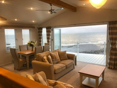 Photo for Luxury Lodge with Spectacular Seaview