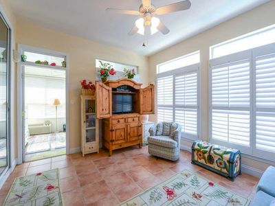 Photo for Beautiful Home w/ Private Pool! Fenced in Backyard, Florida Room, & Porch Swing!