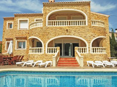 Photo for Calpe: Big villa with private pool. Near to the levante Beach and the supermarket