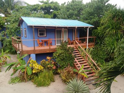 Photo for Beautiful studio casita on the ocean in Belize!