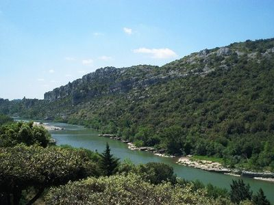 Photo for Villa at the entrance of the Gorges de l'Ardeche
