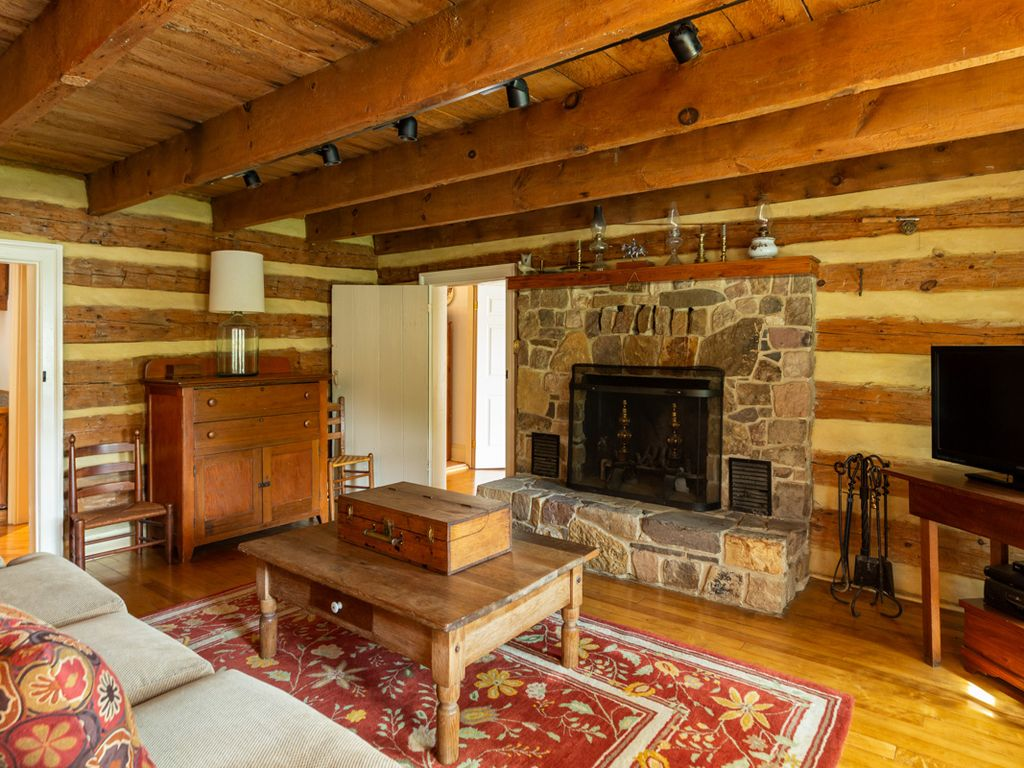 Rustic Log Cabin In Warm Springs Within Walking Distance Of The Gristmill Inn Warm Springs