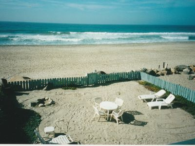 Photo for Oceanfront - Private Beach!  Includes Parking Spot