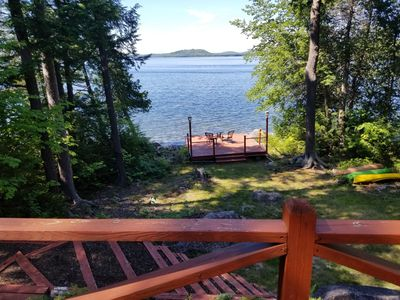 Photo for Lake House on one of Maines most Pristine lakes
