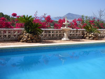 Photo for Big villa 4 km from the beach with private pool and BBQ area