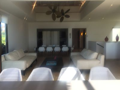 Photo for Fabulous PH at Veneros building, stunning ocean views, private pool,