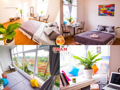 Photo for Colorful & Large Suite-Flower Valley view-Em Am Homestay