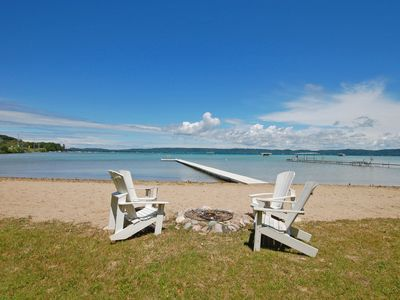 Photo for Lovely Cottage on Big Glen Lake with Large Sandy Beach!