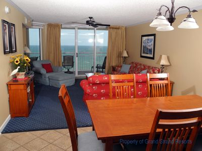 Photo for South Shore Villa Unit 1202! Stunning Oceanfront Premium Condo. Book your get away vacation today!