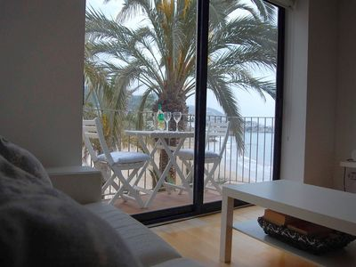 Photo for Double White Attic - Sea view at Playa San Sebastian