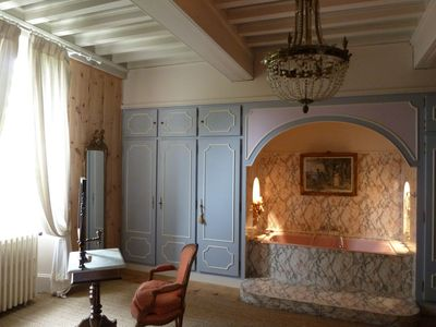 Photo for Chateau with staff, half-board offer, near Loire Valley and Beauval