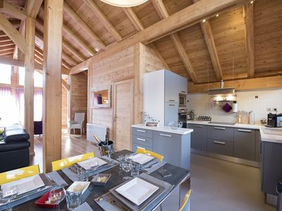 Photo for Warm and family chalet