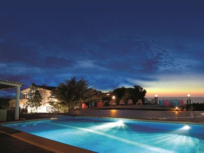 Photo for 2 bedroom Apartment, sleeps 4 in Praia das Maçãs with Pool
