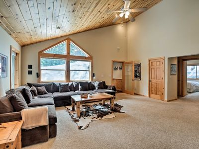 Photo for NEW! Tahoe Donner Home w/ Hot Tub - 7 Mi to Lake!